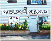 Native People of Sudbury Development Corporation Office